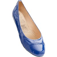 1 Pair Blue Blue Lagoon Rollable After Party Shoes to Keep in Your Handbag Ladies Large (7-8) - Rollasole