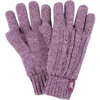 1 Pair Rose 3.2 Tog Heatweaver Yarn Gloves Ladies Medium/Large - Heat Holders