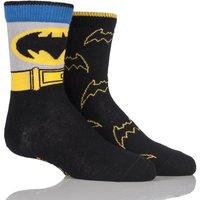 Boys 2 Pair SockShop DC Comics Mix Batman Socks
