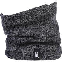 1 Pack Charcoal 2.6 Tog Heatweaver Yarn Neck Warmer Mens One Size - Heat Holders