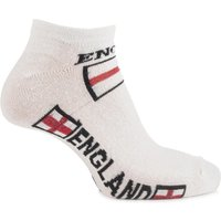 Boys And Girls 3 Pair England Trainer Socks