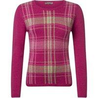 1 Pack Damask 100% Lambswool Tartan Jumper Ladies Large - Great and British Knitwear