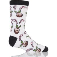Kids 1 Pair Sockshop Dare To Wear Christmas Socks - Christmas Time