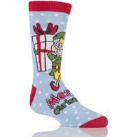 Kids 1 Pair Sockshop Dare To Wear Christmas Socks - Santa
