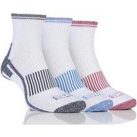 Mens 3 Pair Storm Bloc Ankle Socks
