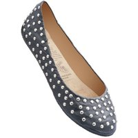 1 Pair Black Deluxe Range Rock and Rollasole Studded Shoes Ladies Medium (5-6) - Rollasole