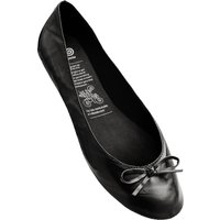1 Pair Black Black Rollable After Party Shoes to Keep in Your Handbag Ladies Medium (5-6) - Rollasole