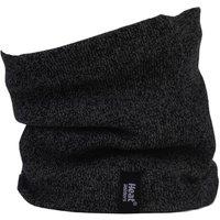 1 Pack Black 2.6 Tog Heatweaver Yarn Neck Warmer Mens One Size - Heat Holders