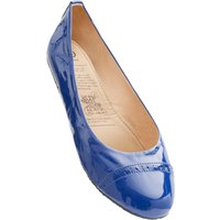 1 Pair Blue Blue Lagoon Rollable After Party Shoes to Keep in Your Handbag Ladies Small (3-4) - Rollasole