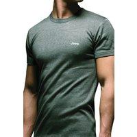 1 Pack Grey Short Sleeved Thermal T-Shirt Mens Small - Jeep