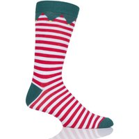 1 Pair Santas Elf Bamboo Santas Elf Christmas Gift Boxed Socks Unisex 4-8 Ladies - Lazy Panda