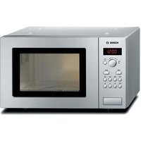 Bosch HMT75M451B Compact Microwave Oven in Stainless Steel 800W