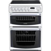 Cannon CH60EKW 60cm KENDAL Electric Cooker in White Ceramic Hob D Ovn