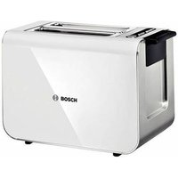Buy Bosch TAT8611GB STYLINE Range 2 Slice Toaster in Gloss White - Sonic Direct