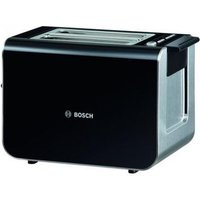 Buy Bosch TAT8613GB STYLINE Range 2 Slice Toaster in Gloss Black - Sonic Direct
