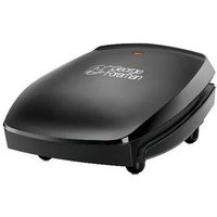 George Foreman 18471 4 Portion Family Compact Health Grill in Black