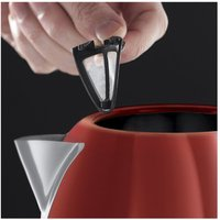 Russell Hobbs 20092 1 7 Litre Dorchester Kettle in Red 3 0 kW Rapid Bo