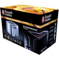 Buy Russell Hobbs 20740 Buckingham 2 Slice Toaster in Polished Stainless S - Sonic Direct
