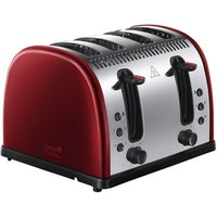 Buy Russell Hobbs 21301 LEGACY 4 Slice Side by Side Toaster in Metallic Re - Sonic Direct
