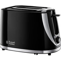 Buy Russell Hobbs 21410 Mode Collection 2 Slice Toaster in Gloss Black - Sonic Direct