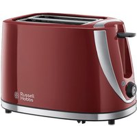 Buy Russell Hobbs 21411 Mode Collection 2 Slice Toaster in Red - Sonic Direct
