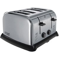 Buy Russell Hobbs 22370 4 Slice Side by Side Toaster in Polished Brushed S - Sonic Direct