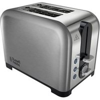 Buy Russell Hobbs 22390 2 Slice Wide Slot Toaster in Polished Brushed Stee - Sonic Direct