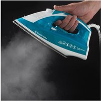 Russell Hobbs 23061 Supreme Steam Steam Iron in Turquoise Blue