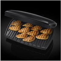 George Foreman 23440 10 Portion Family Health Grill Black