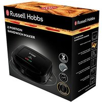 Russell Hobbs 24520 2 Portion Sandwich Toaster in Black