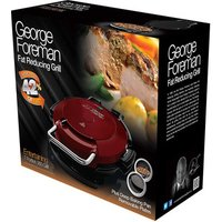 George Foreman 24640 7 Portion Entertaining Pizza Plate 360 Health Gri