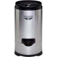 White Knight 28009S 4 1kg 2800rpm Gravity Drain Spin Dryer in St Steel