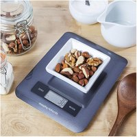 Morphy Richards 46180 Accents Digital Kitchen Scale in Graphite Black