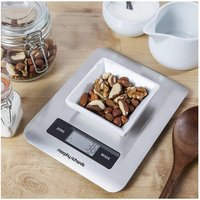 Morphy Richards 46185 Accents Digital Kitchen Scale in Stainless Steel
