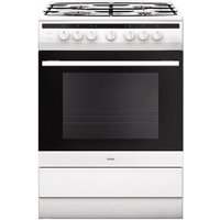 Amica 608GG5MSW 60cm Gas Cooker in White 2yr Warranty FSD A Rated
