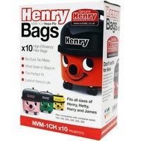 Numatic 907075 Genuine Henry Vac Hepaflow Filter Bag 10 Pack