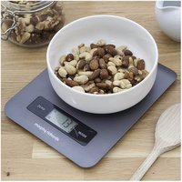 Morphy Richards 974906 Accents Digital Kitchen Scale in Titanium