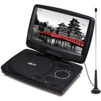 Akai A51003 10 LED Portable DVD Player with DVB T TV Tuner