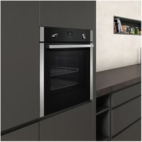 Neff B1ACE4HN0B Built In CircoTherm Plus Single Oven in Black St Steel