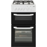 Beko BDG581NW 50cm Twin Cavity Gas Cooker in White