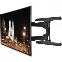 B Tech BT8221 B Tilt Swivel Flat Screen TV Bracket up to 65 Twin Arm