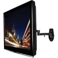 B Tech BTV504 Tilt Swivel Flat Screen TV Bracket up to 42 Twin Arm