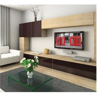 B Tech BTV520 Flat to Wall TV Bracket Fits 42 to 63 70Kg Load