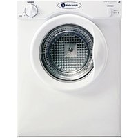 White Knight C37AW 3kg Compact Tumble Dryer in White Vented