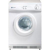 White Knight C42AW 6kg Vented Tumble Dryer in White Uni direction