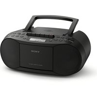 Sony CFD S70B Portable CD Radio Casette Boombox in Black