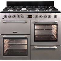 Leisure CK100F232S 100cm COOKMASTER Dual Fuel Range Cooker in Silver