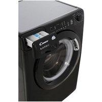 'Candy Cvs1482d3b Washing Machine In Black Nfc 1400rpm 8kg