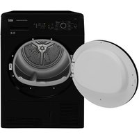 Beko DCUR801B 8kg Condenser Tumble Dryer in Black Sensor Dry B Rated