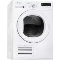 Whirlpool DDLX80114 6th Sense Condensor Tumble Dryer 8kg in White